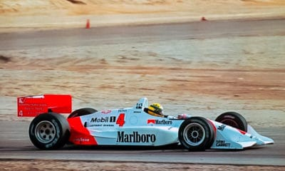 Senna Ayrton 1992 IndyCar test Penske Twitter