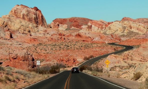 Valley of Fire trasy