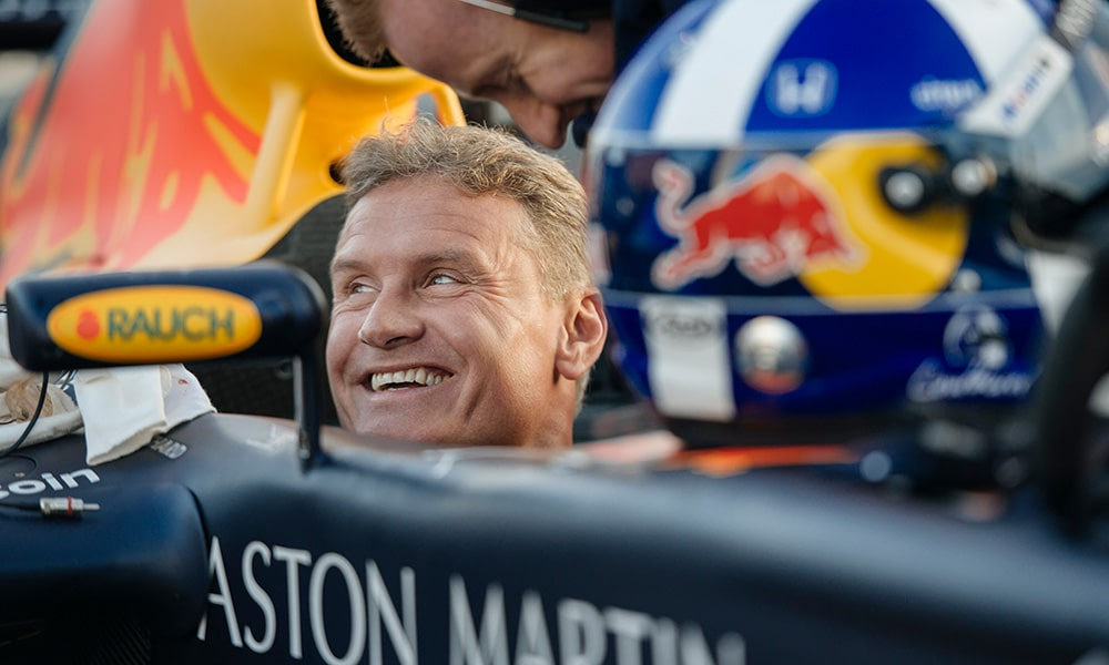 David Coulthard 2019 Red Bull vs Taxi