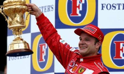 Rubens Barrichello Ferrari F1 Twitter