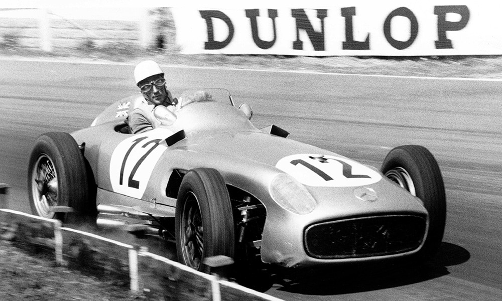 Sir Stirling Moss F1 historia Mercedes