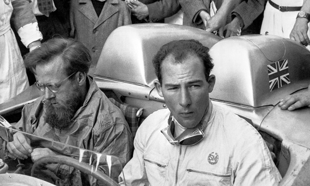 Sir Stirling Moss F1 historia