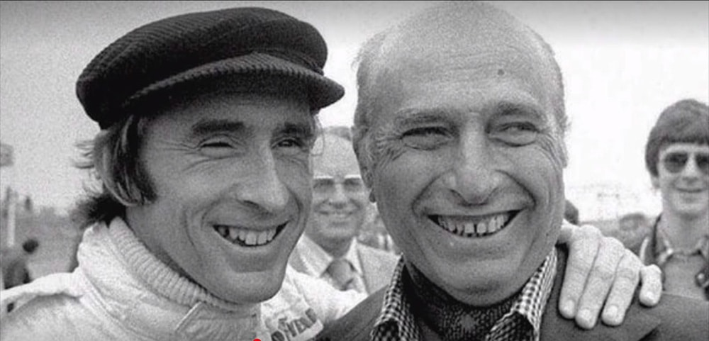 Stewart i Fangio
