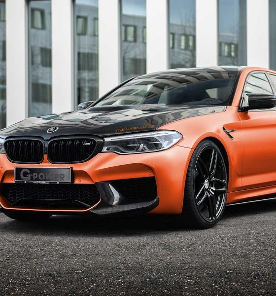 BMW M5 Hurricane RS by G-Power