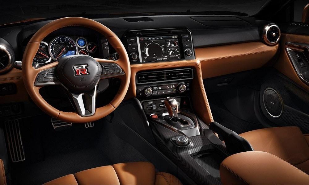 Wnętrze Nissan GT-R