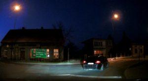 CarForce A300 - nagranie z nocy