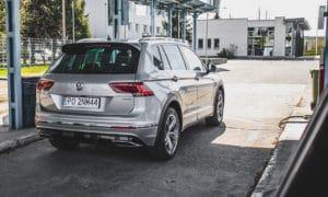tył Volkswagen Tiguan 2020