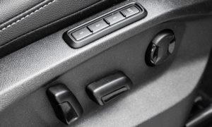 ustawienie fotela VW