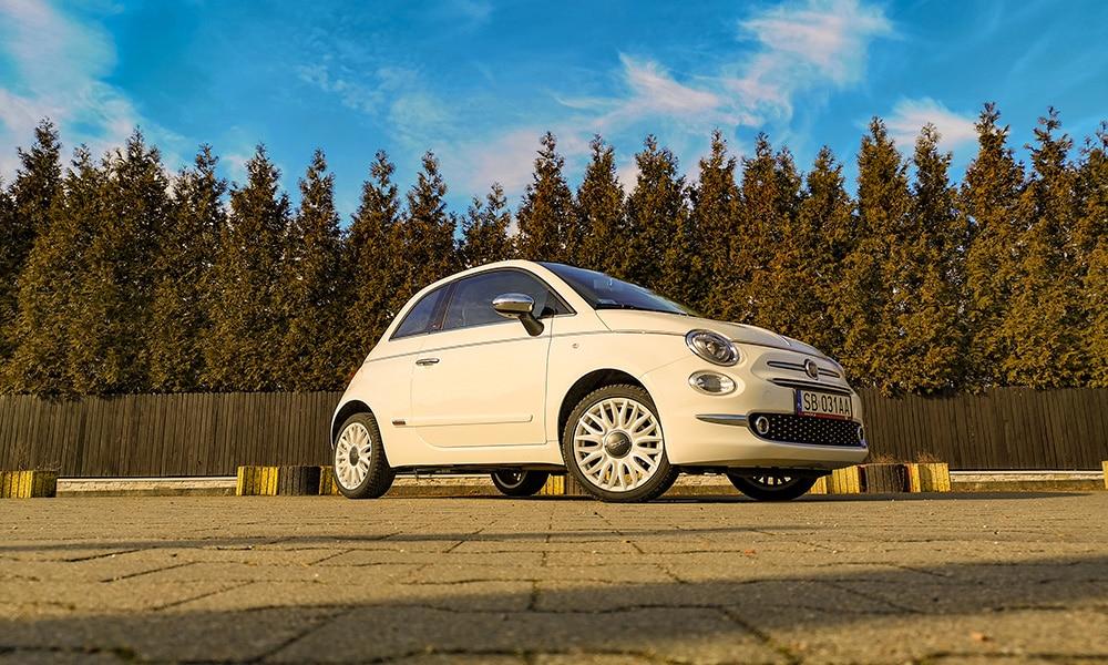 Fiat 500C Dolce Vita przód