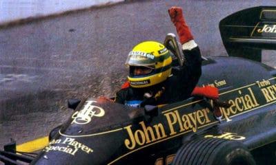 GP Portugalii 1985 pierwsze zwyciestwo F1 Ayrton Senna Lotus