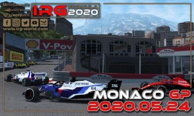 IRG Formula 2020 GP Monako 2020