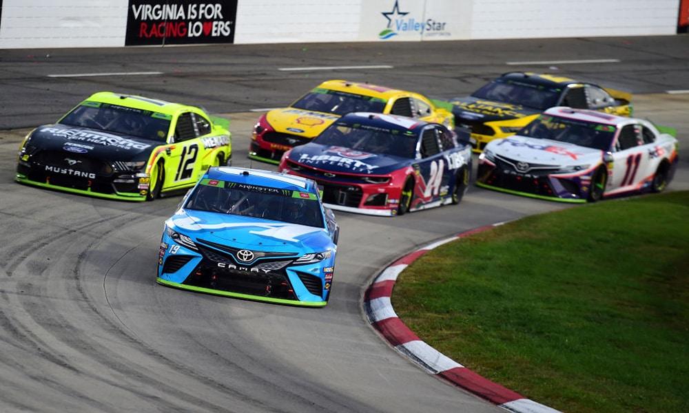 NASCAR Martinsville wyścig2019