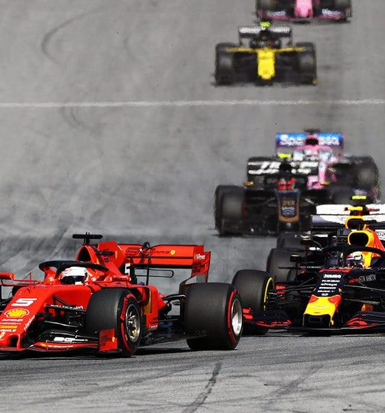 Red Bull Ring GP Austrii 2019 wyścigi F1