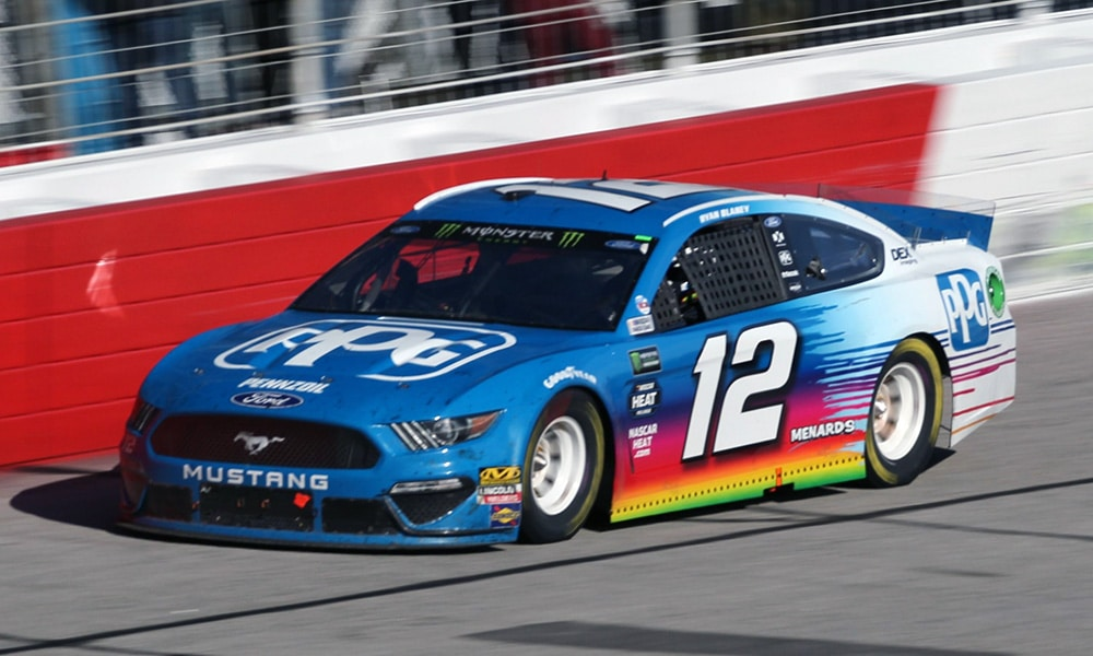 Ryan blaney Ford Mustang