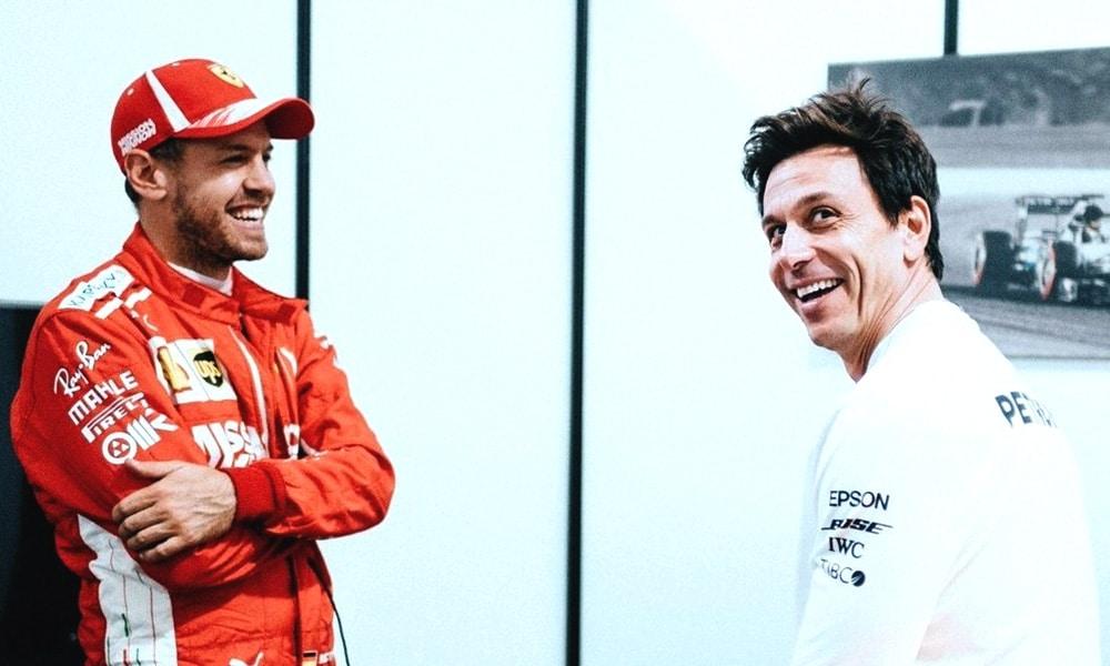 Sebastian Vettel i Toto Wolff karuzela tranferowa 2020