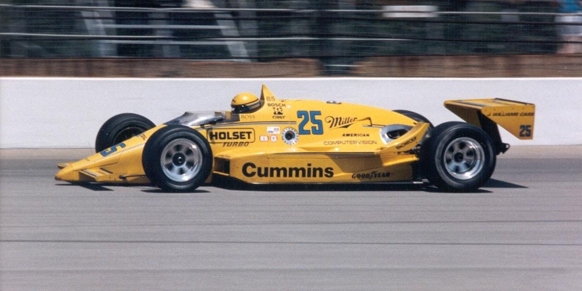 barwy ekipy Penske, Indianapolis 500 1987