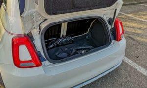 bagażnik w fiacie 500c