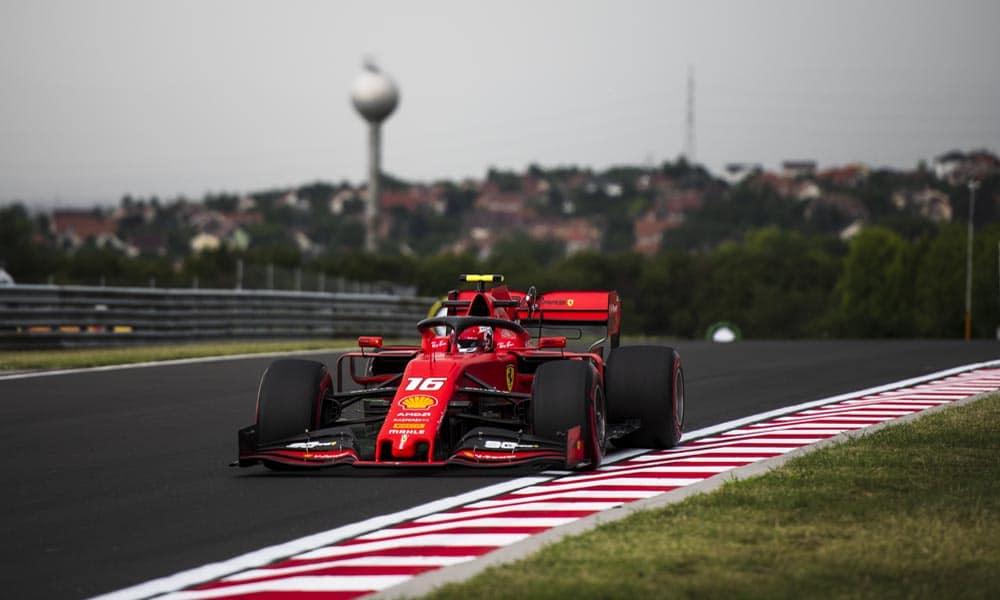 GP Węgier Scuderia Ferrari Charles Leclerc