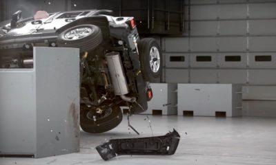 jeep wrangler testy zderzeniowe iihs