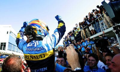 powrót Fernando Alonso 2021 Renault Twitter