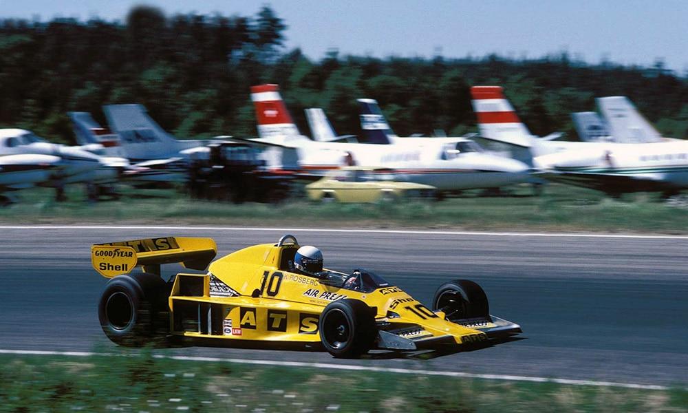 ATS Keke Rosberg 1978 GP Szwecji