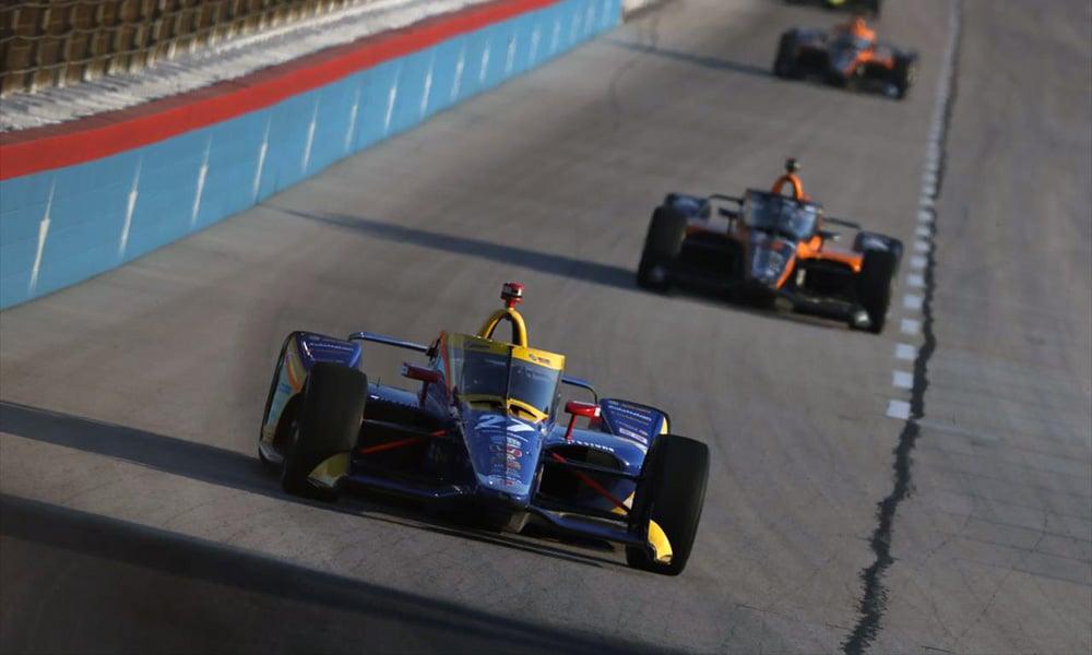 Alexander Rossi Andretti Autosport IndyCar 2020 Texas