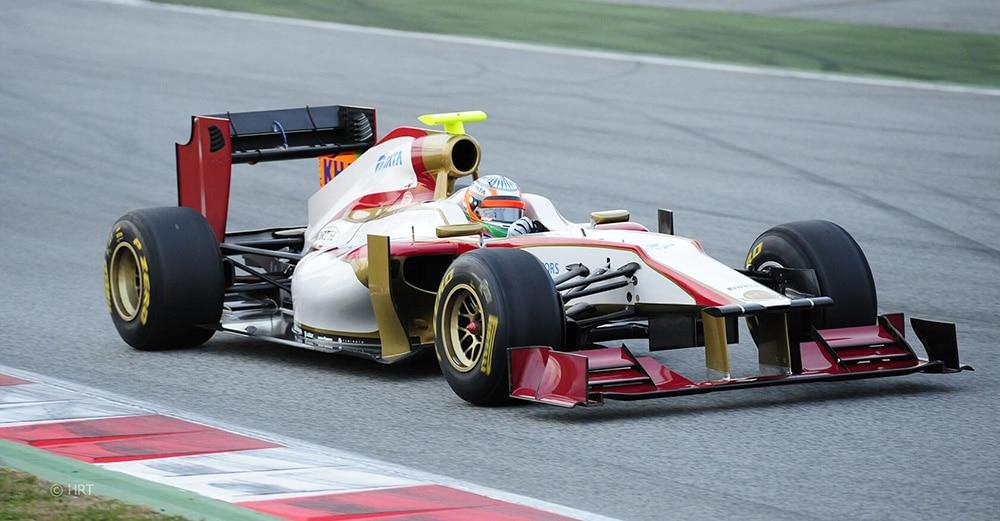 HRT F1 2012 Narain Karthikeyan najgorsze zespoły f1