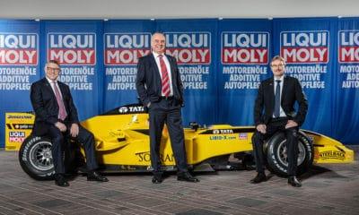 Liqui Moly pozostaje partnerem F1