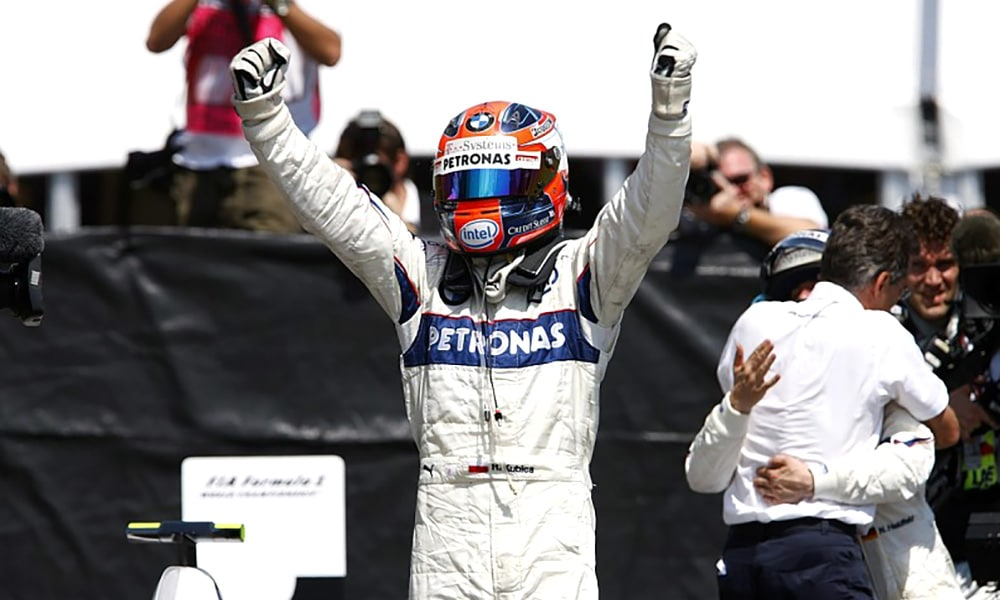 Robert Kubica 2008 BMW Sauber Kanada
