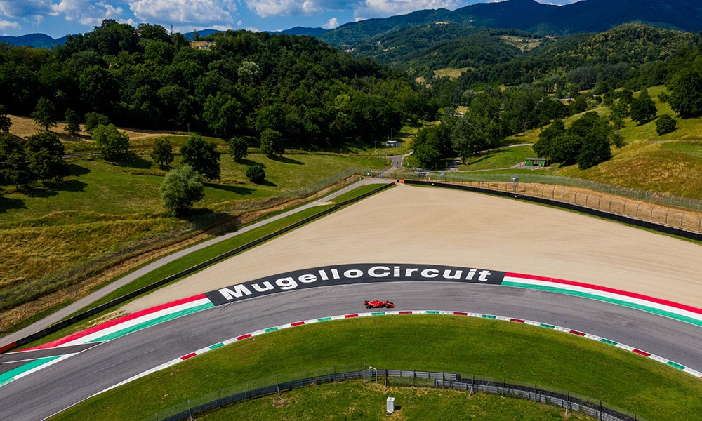 Tor Mugello 2020 Ferrari test day gdzie oglądać gp toskanii