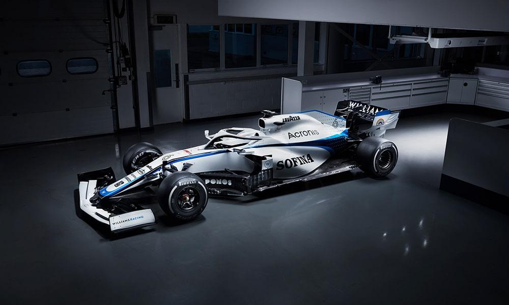 Williams Racing 2020 nowe malowanie bok 2