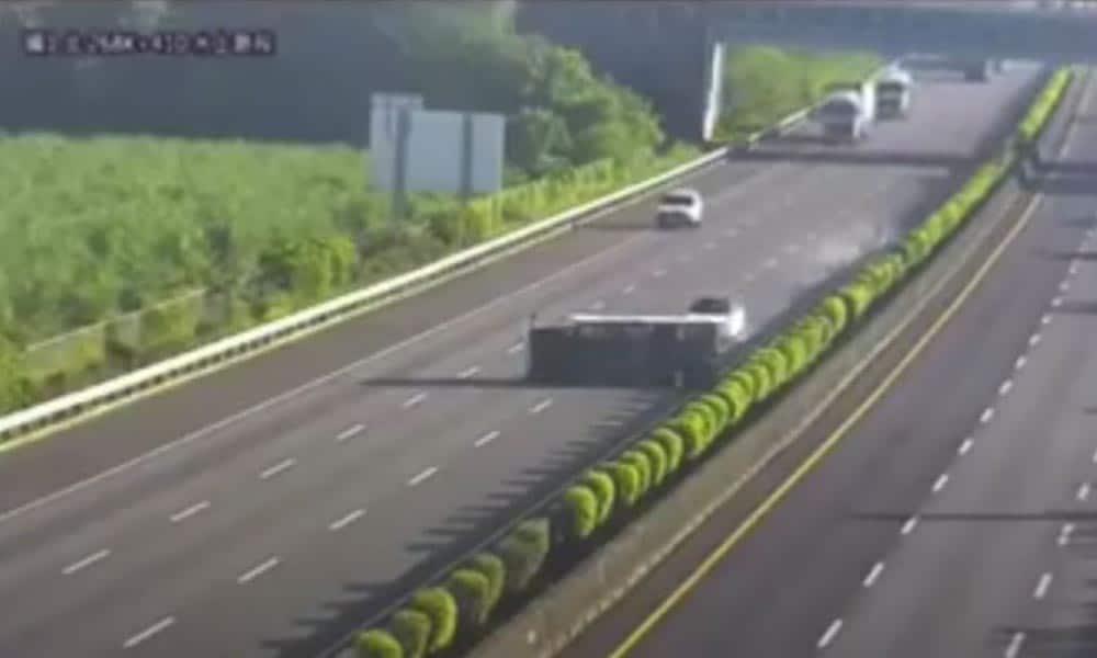 autopilot tesli wypadek tajwan