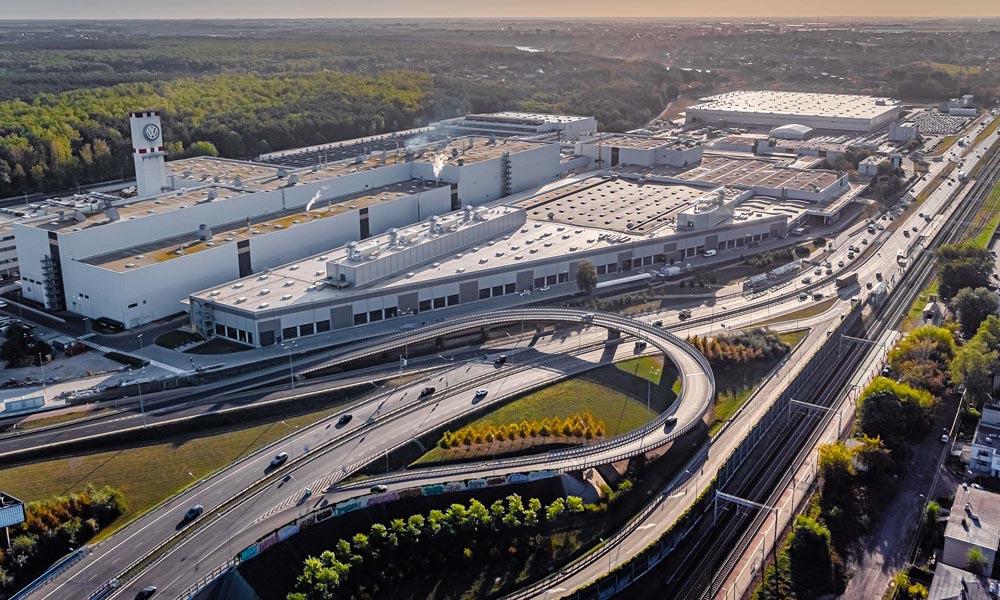 VW Poznań fabryka