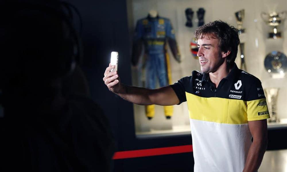 powrót fernando Alonso 2021 Renault F1