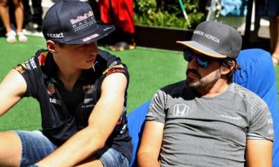 Alonso i Verstappen 2017