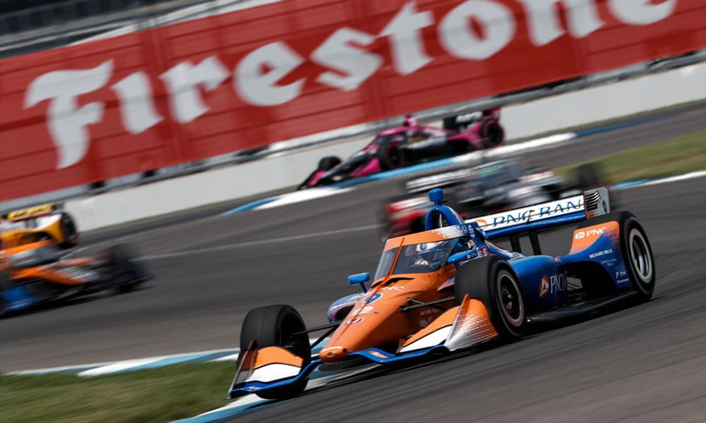 Dixon Indy GP 2020 IndyCar triumf