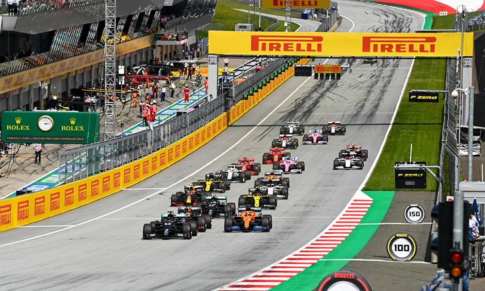 GP Styrii Lewis Hamilton 85 zwycięstwo kalendarz F1 2020