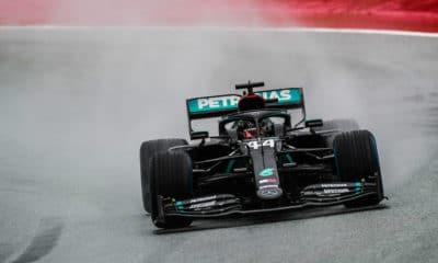 GpP Styrii kwalifikacje Lewis Hamilton deklasacja
