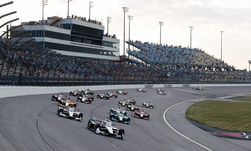 Iowa II start IndyCar