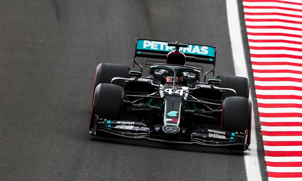 Lewis Hamilton GP Węgier 2020 90 PP kwalifikacje