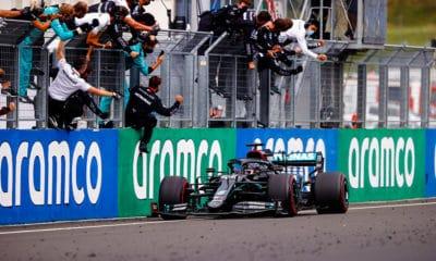 Lewis Hamilton Mercedes GP Węgier 2020