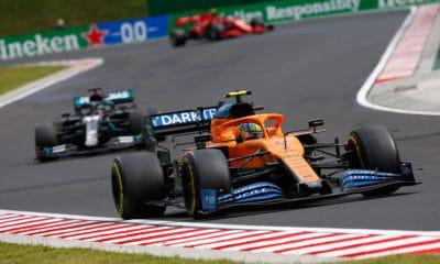 McLaren Norris przed Hamilton GP Węgier 2020