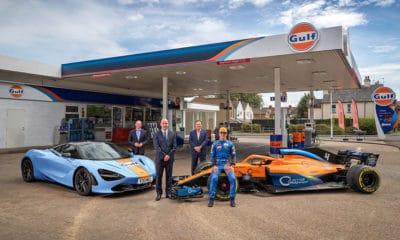 McLaren i Gulf 2020 współpraca