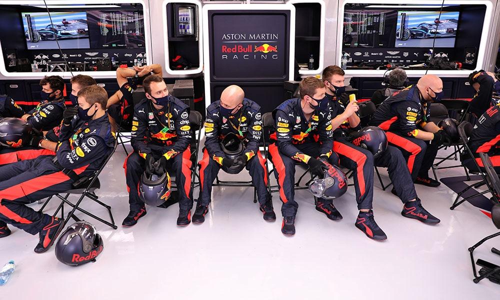 Mechanicy F1 Red Bull 2020