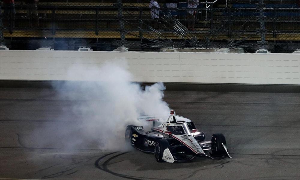 Newgarden Penske 2020 Iowa win