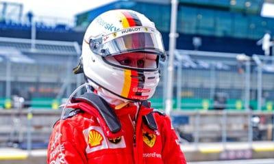Sebastian Vettel GP Austrii 2020 Ferrari