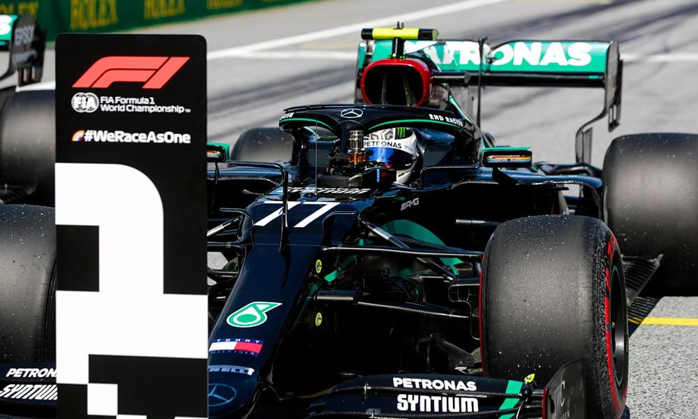 Valtteri Bottas GP Austrii 2020 Pole Position Mercedes