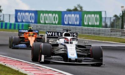 Williams 2020 GP Węgier