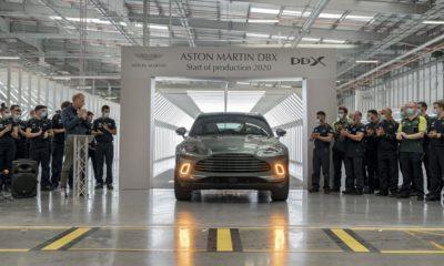 Aston Martin DBX pierwszy egzemplarz