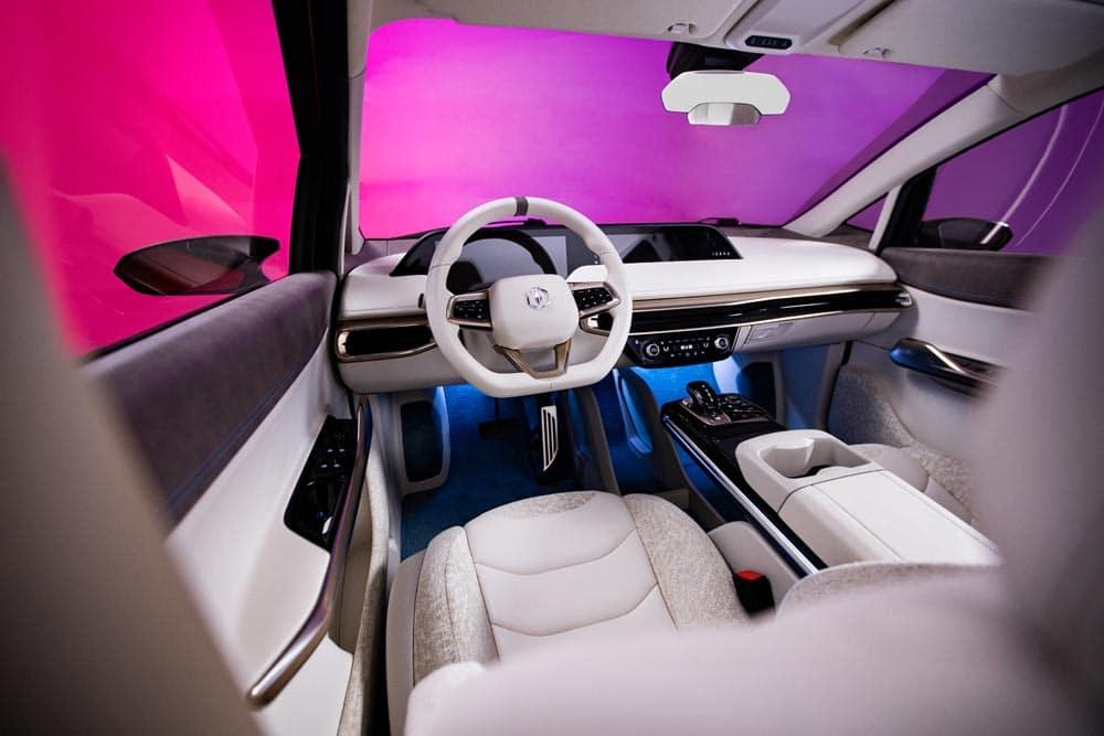 Izera wnętrze stanowisko kierowcy